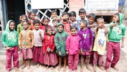tribal children at gov sch receiving gif