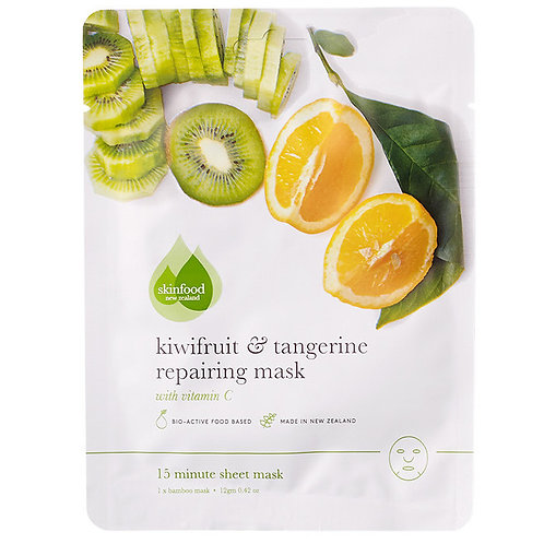 Kiwifruit and Tangerine Repairing Mask