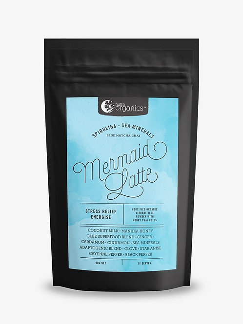 'Mermaid Latte' Chai Spices BlueSuperfoods