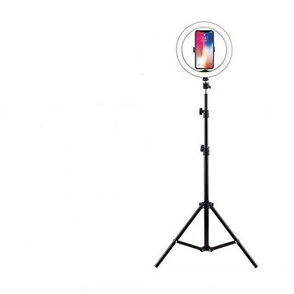 Aro de luz led Flash 45 cm +Tripode