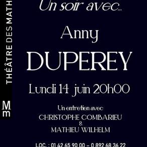 Un soir...avec Anny Duperey