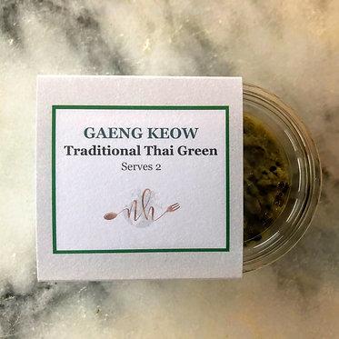 Thai green (Gaeng Keow) curry paste