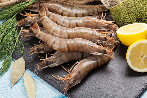 How to devein prawns, keeping the shells on