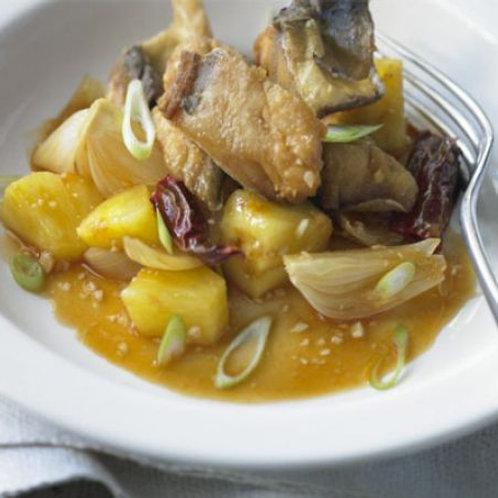 Sweet & sour mackerel