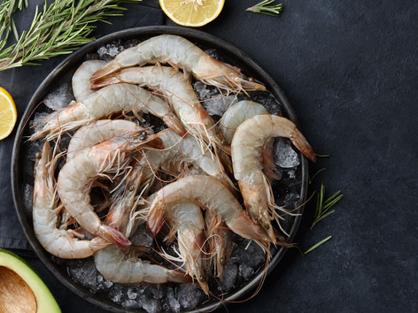 Fresh UK king prawns