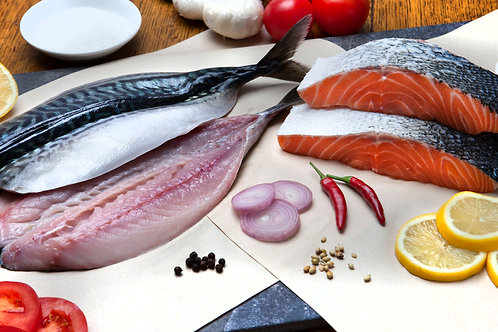 Oily Fresh Fish Selection (4, 8, 12 or 16 pack)