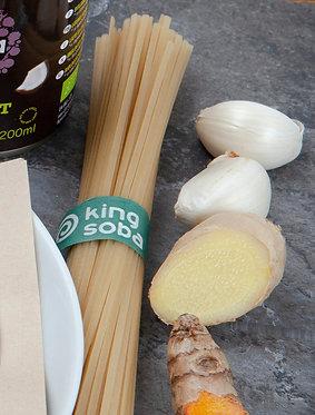 King Soba organic & GF brown rice noodles (100g)