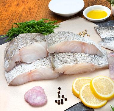 Scottish cod fillet portions - family pack