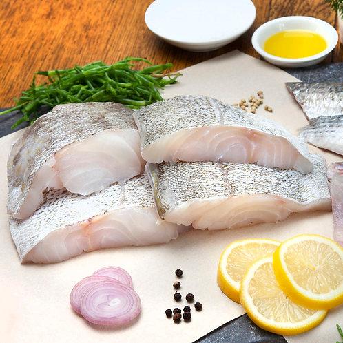 Frozen hake fillet portions (4, 8, 12 or 16 pack)