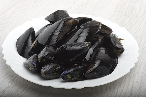 Live Cornish rope-grown mussels (0.5kg-2kg bags)