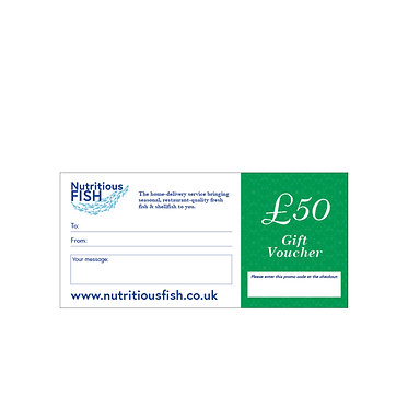 £50 Gift Vouchers