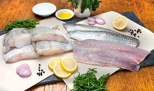 Monthly White Fresh Fish Selection
