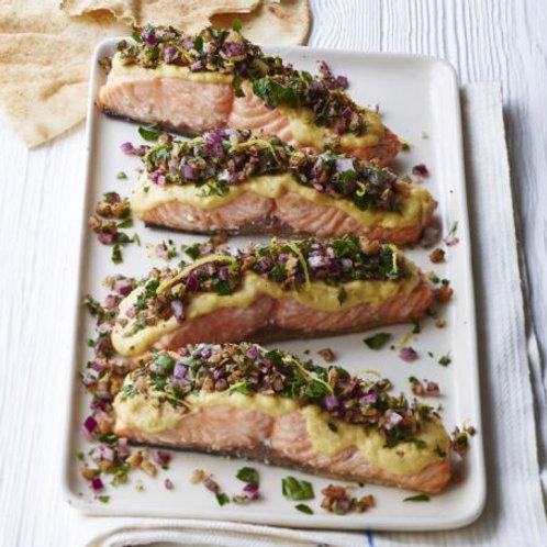 Tarator-style salmon