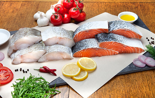 Monthly Mixed Fresh Fish Selection