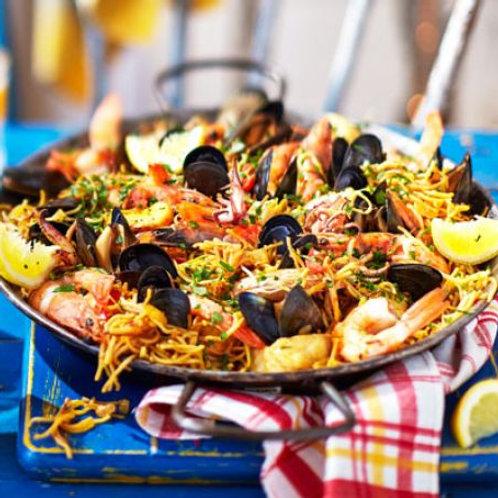 Seafood fideuà
