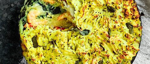 Bombay fish pie