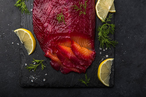 Jamie's Russian-style beetroot gravadlax
