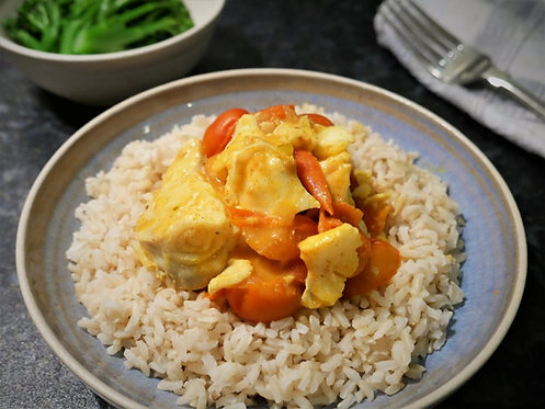 Jamie's so-easy fish curry