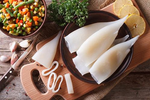 Fresh squid (prepared)