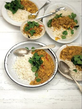 Jamie's Southern Indian crab curry