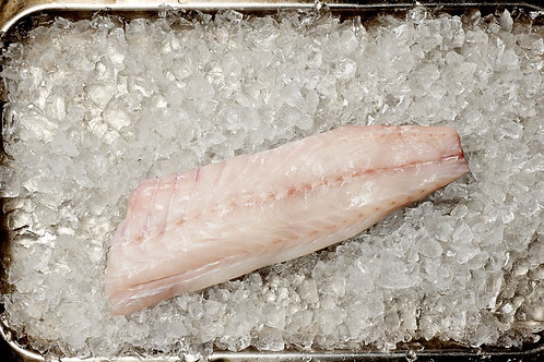 Wild line-caught sea bass fillets (x2)
