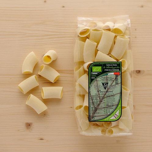 Organic paccheri pasta