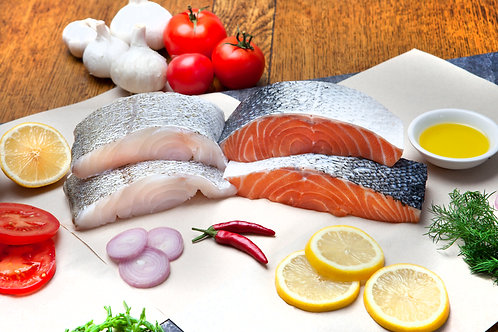 Mixed Fresh Fish Selection (4, 8, 12 or 16 pack)