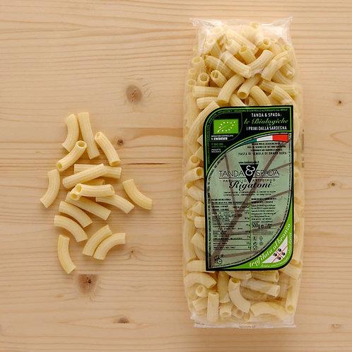 Organic rigatoni pasta