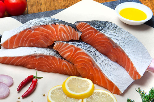 Frozen Loch Duart Scottish salmon fillets  (3, 6, 9 or 12 pack)