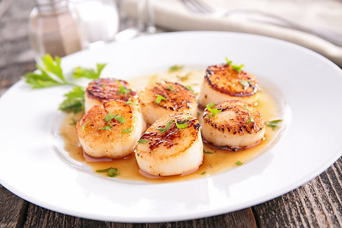 How to prepare & cook scallops