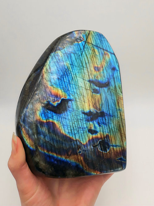 Labradorite, Polished