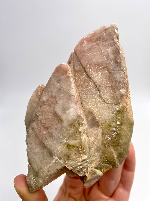 Peach & Green Calcite