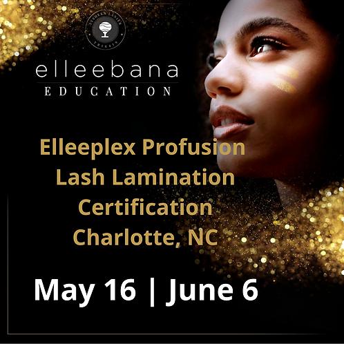 Elleeplex Profusion Brow Lamination Course