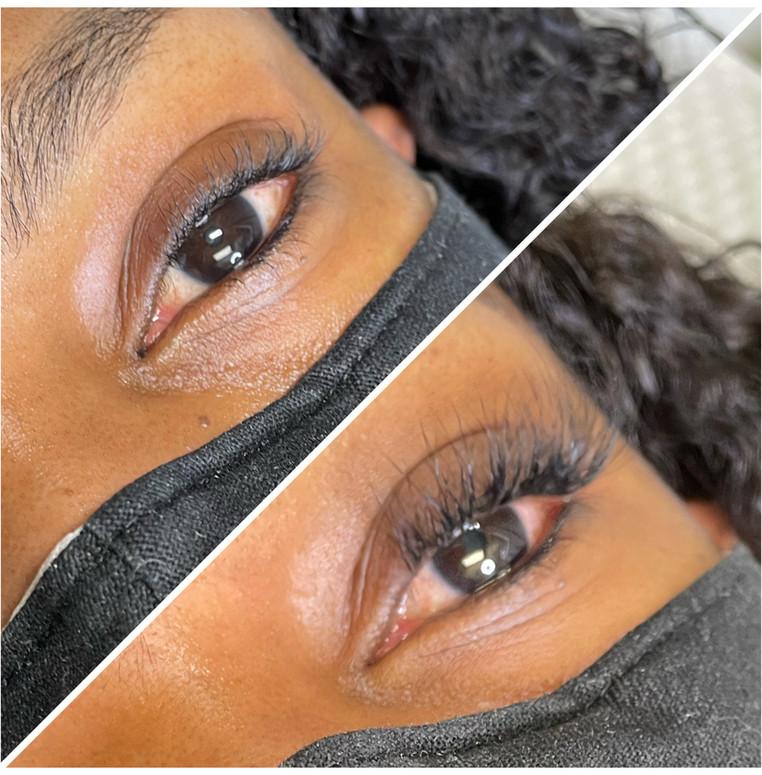 Hybrid Fullset Eyelash Extensions