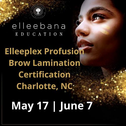 Elleeplex Profusion Lash Lamination Course