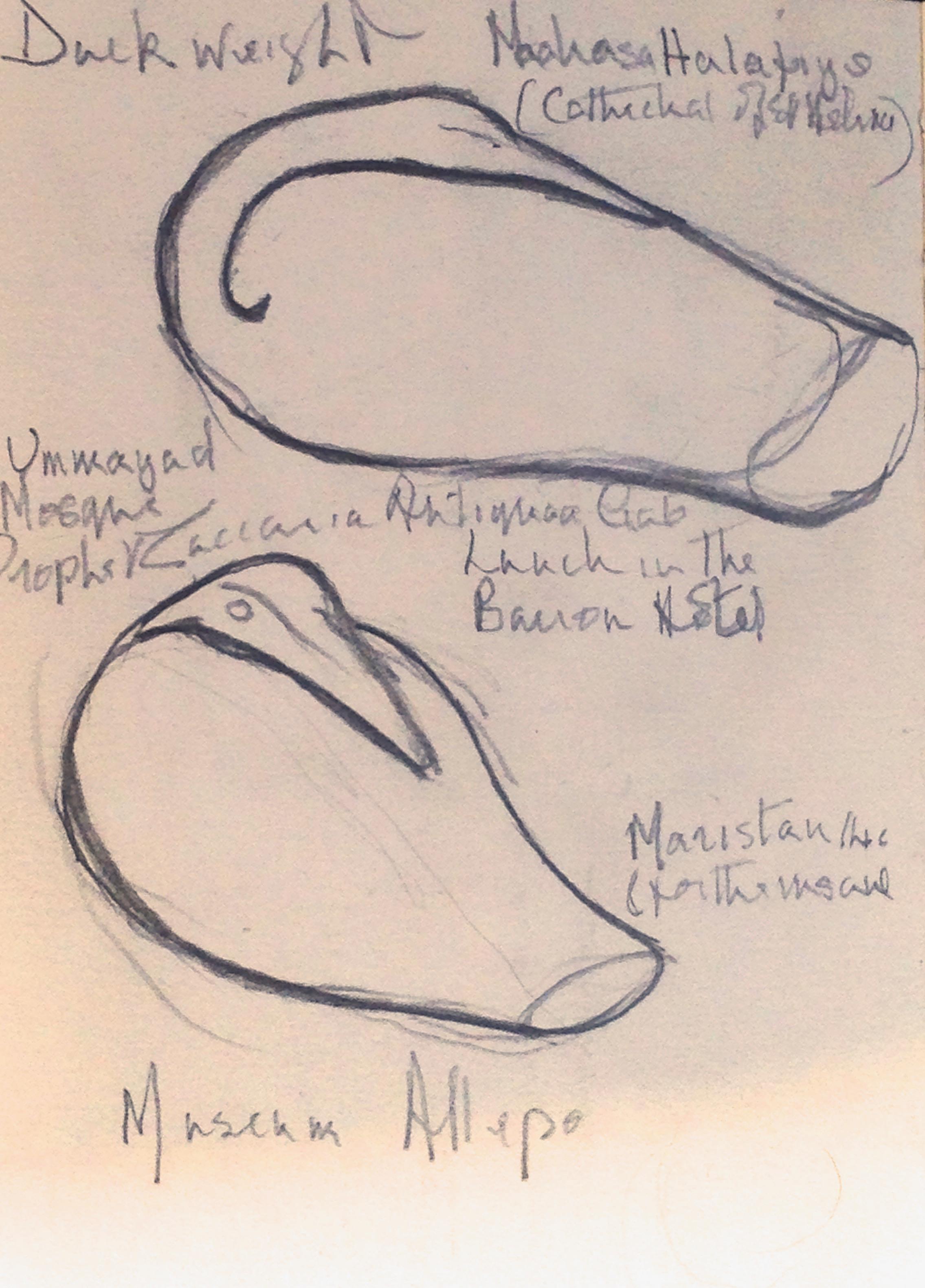 Artist Sketches.