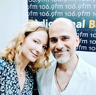 Speaking with Lucas Avram Cavazos on RKB Radio Kanal Barcelona 106.9 fm