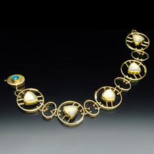 Bracelet : Moonstone & Opal