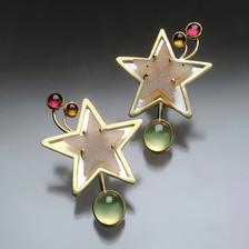 Earrings : Shooting Star