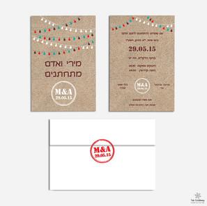 Branded wedding design