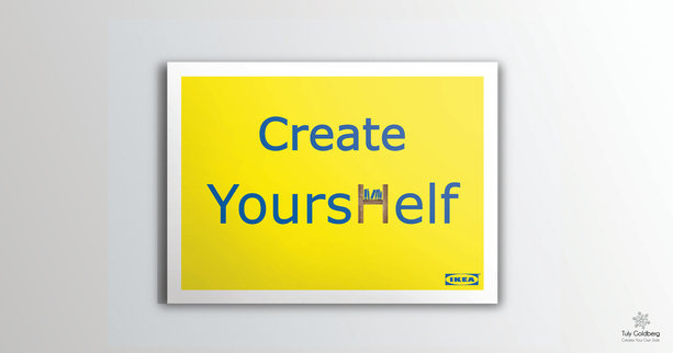 Ikea Ad design - Studio work