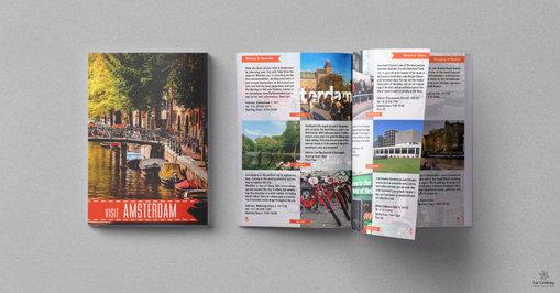 Amsterdam - Tourists magazine design