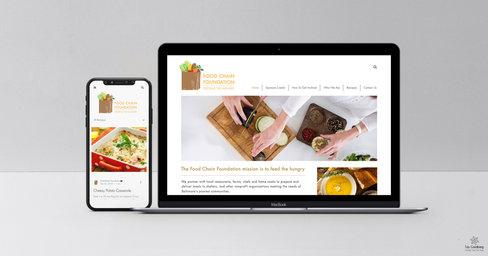 Foodchain Foundation - Logo & Website design