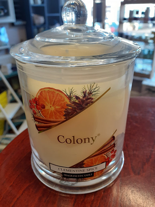 Colony Clementine Spice Candle