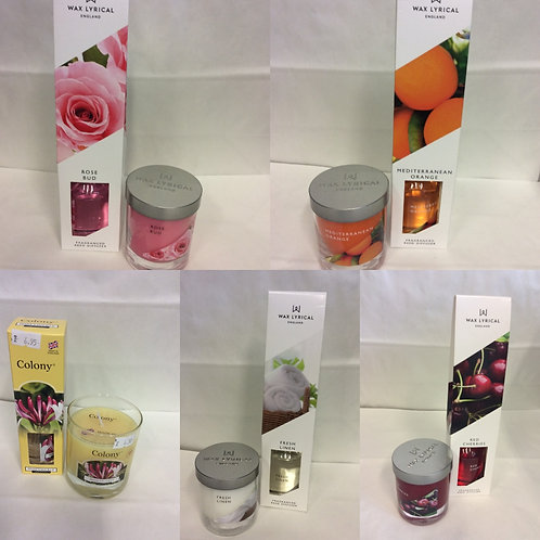 Wax Lyrical Diffuser and candle set
