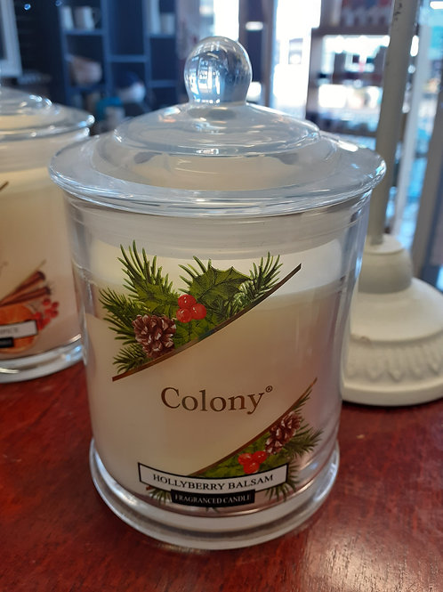 Colony, Holyberry Balsam Candle