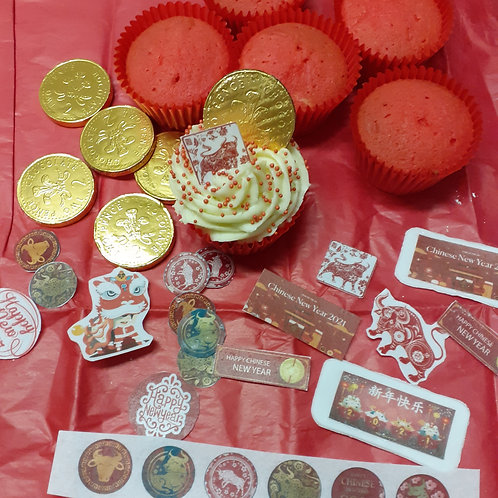 Chinese New Year Cupcake Kits