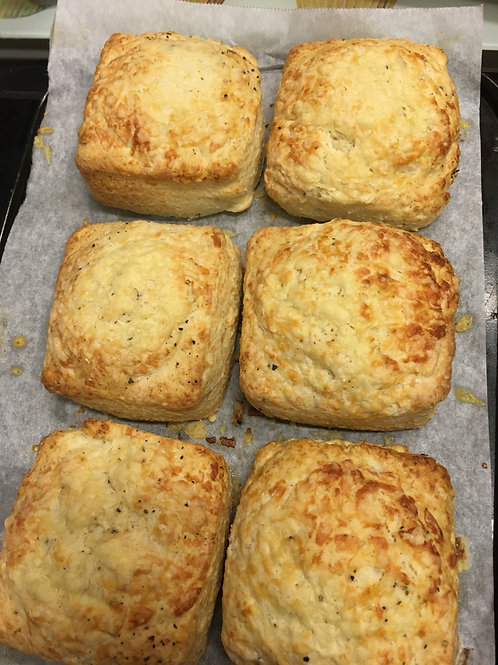 6 Large Cheese Scones