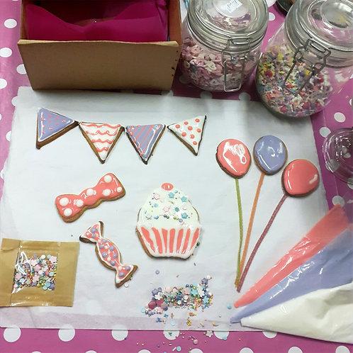 Birthday Bunting Cookie Kit