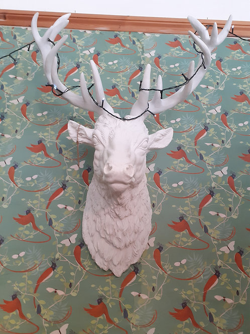 Huge White Stag